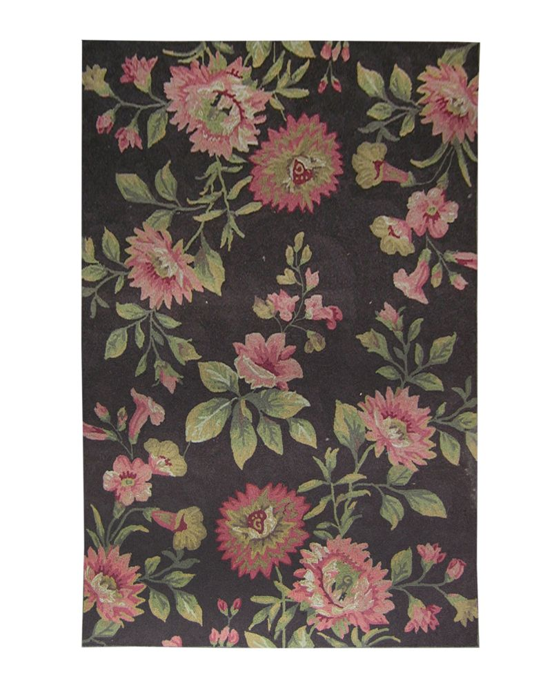 Tapis Chocolat Martha's Vineyard 6 Pi. x 9 Pi.