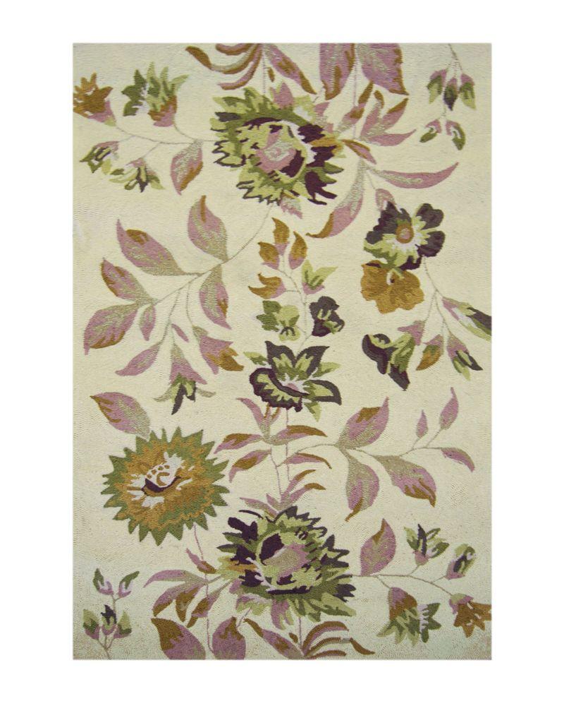 Linen Martha's Vineyard 5 Feet x 8 Feet Area Rug