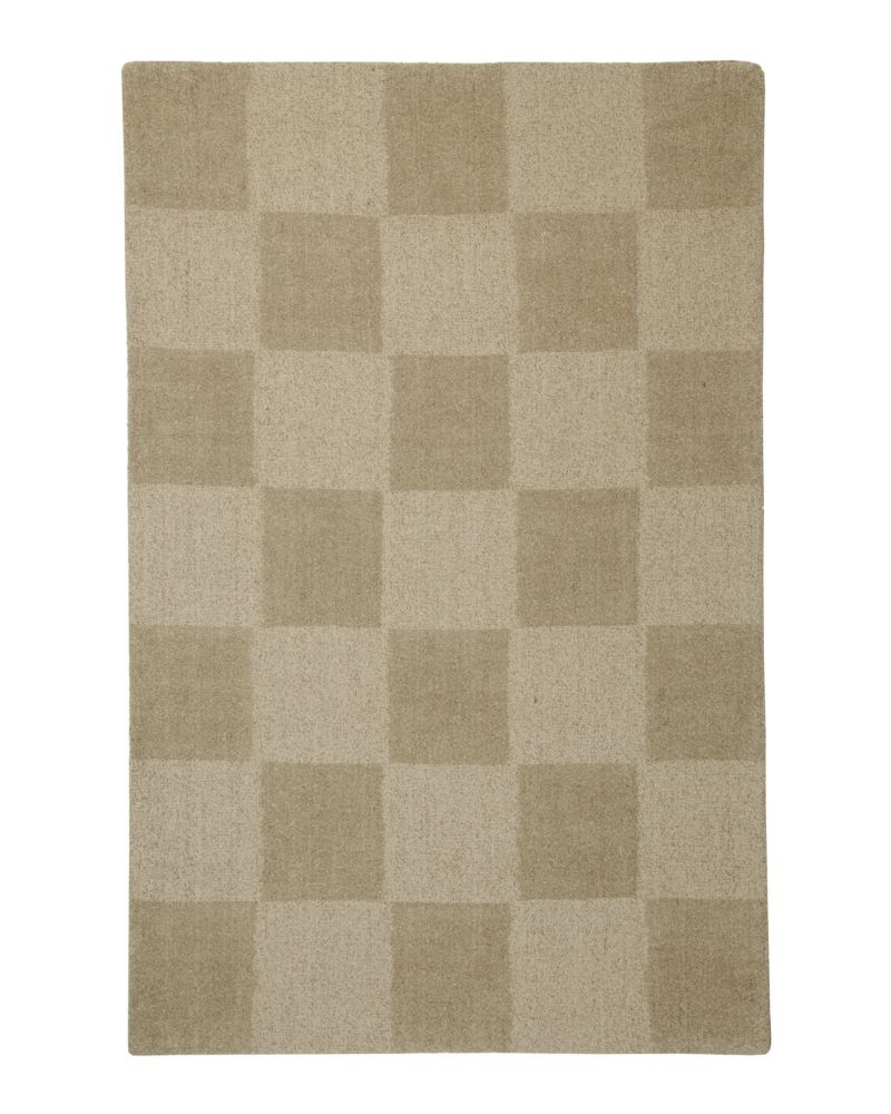 Beige Moonwalk 4 Ft. x 6 Ft. Area Rug MWALK4X6 Canada Discount