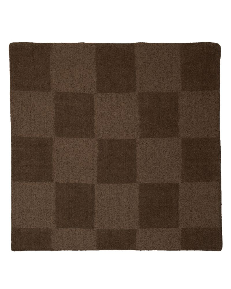Espresso Moonwalk 5 Ft. x 5 Ft. Area Rug MWALK5ES in Canada
