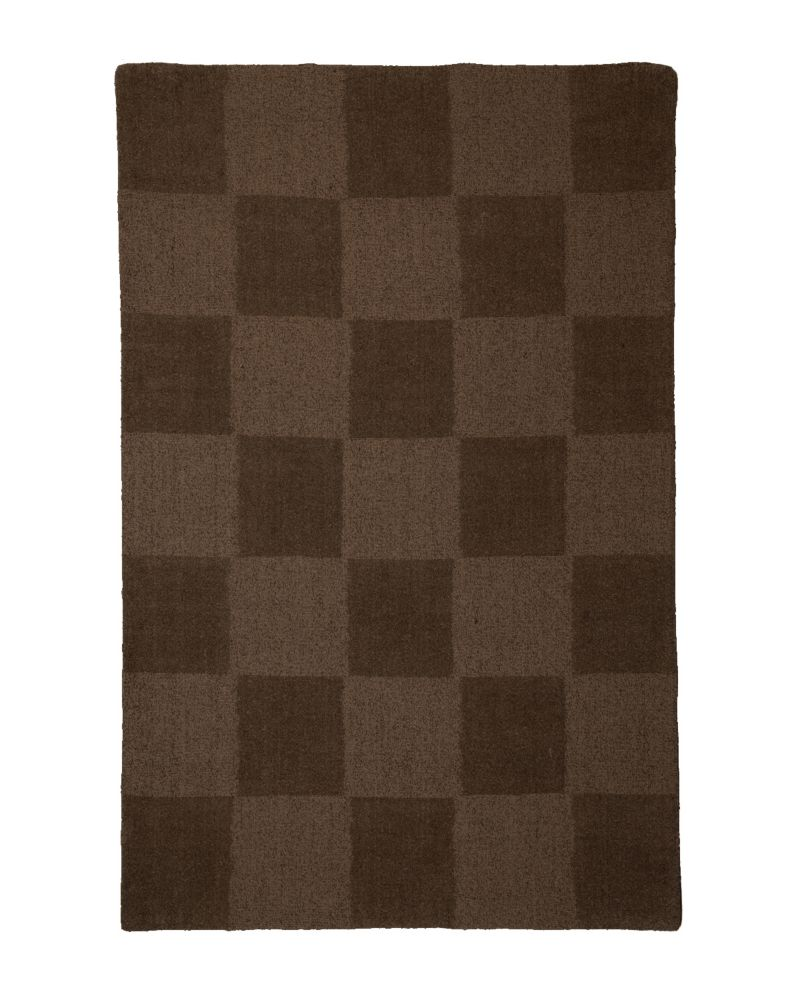 Espresso Moonwalk 5 Feet x 8 Feet Area Rug