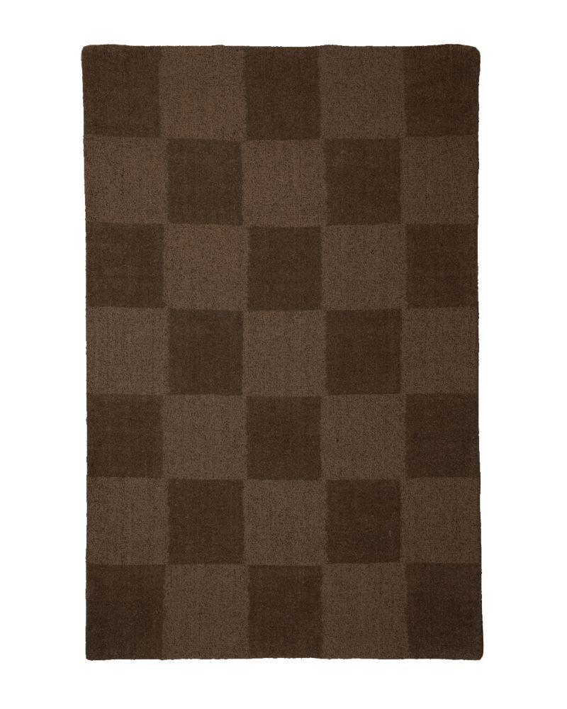 Lanart Rug Moonwalk Brown 8 ft. x 10 ft. Indoor Textured Rectangular Area Rug
