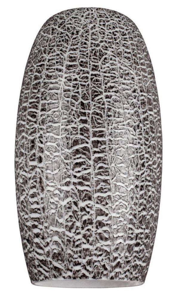 Textured Black Glass Shade