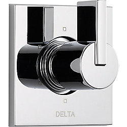 Vero 1-Handle 6-Function Diverter/Volume Control Valve Trim Kit in Chrome (Valve Not Included)