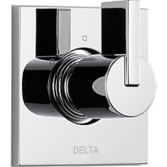 Vero 1-Handle 3-Function Diverter/Volume Control Valve Trim Kit in Chrome (Valve Not Included)