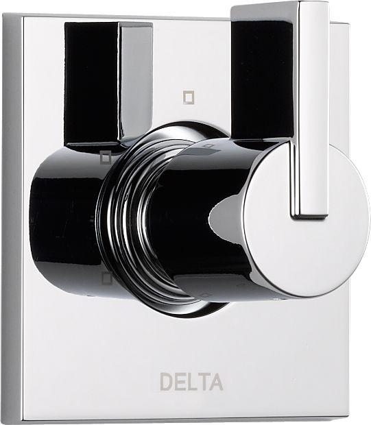 Delta Vero 1-Handle 3-Function Diverter/Volume Control Valve Trim Kit in Chrome (Valve Not Included)