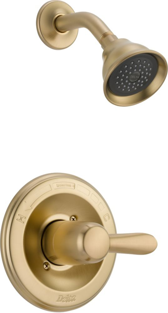Lahara Single-Handle Single-Function Shower Faucet in Champagne Bronze