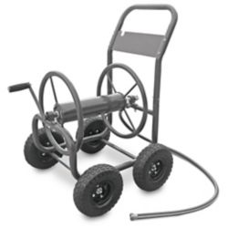 Hampton Bay Four Wheel Hose Cart