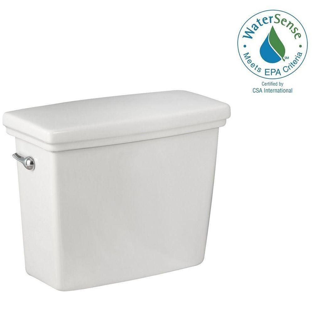 Réservoir de toilette Structure Suite en blanc seulement