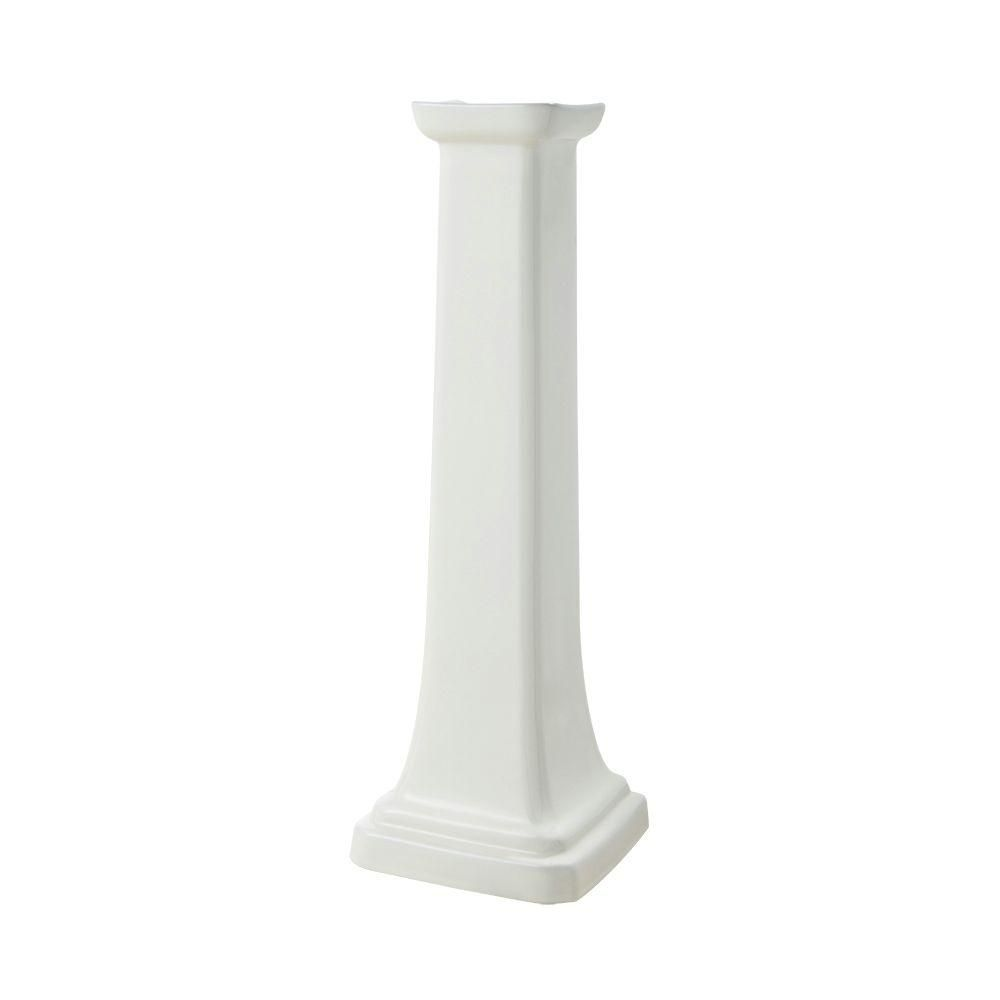 Foremost international colonne de lavabo sur colonne de la s rie 1920 en biscuit home depot canada for Colonne de lavabo