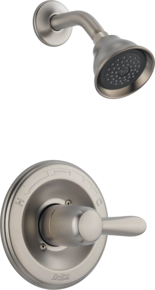 Lahara Single-Handle Single-Function Shower Faucet in Stainless Steel