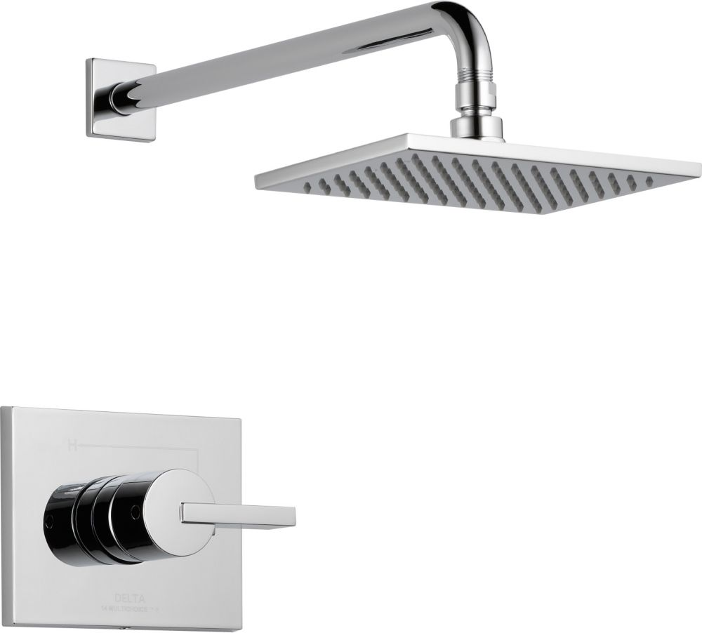 Vero Single-Handle Single-Function Shower Faucet with Raincan Showerhead in Chrome