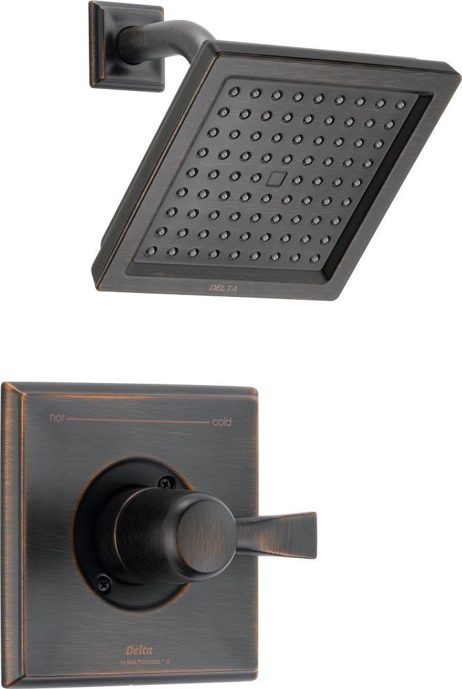 Dryden - Garniture seulement, mitigeur de douche seulement, 1jet, Venetian Bronze