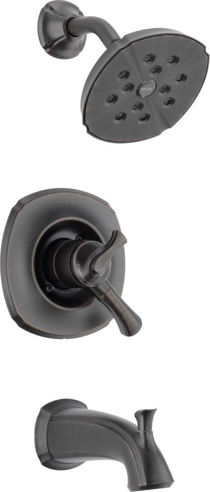 Delta Addison 1-Spray Tub  Shower Faucet in Bronze