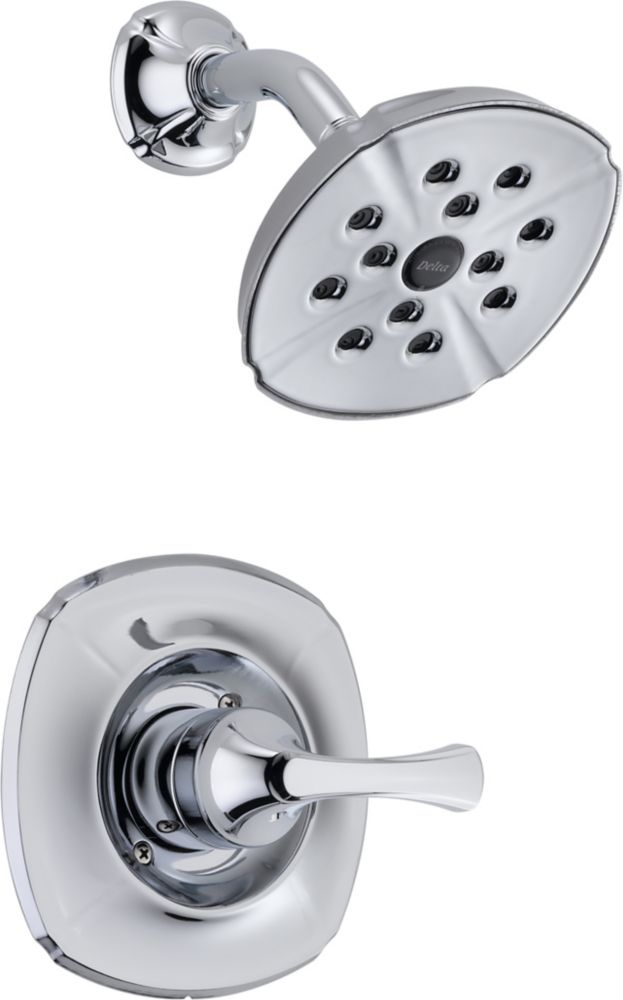 Addison Single-Handle Single-Function Shower Faucet with H2Okinetic in Chrome