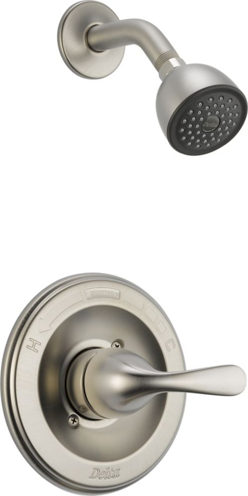 Classic Single-Handle Single-Function Shower Faucet in Chrome