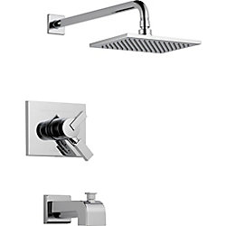 Vero 1-Spray Tub  Shower Faucet in Chrome (Valve Sold Separately)