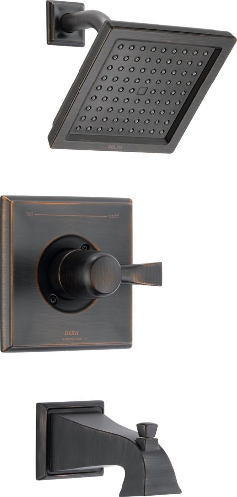 Dryden Tub and Shower Faucet Trim Kit Only in Venetian Bronze (Valve not included) T14451-RB in Canada