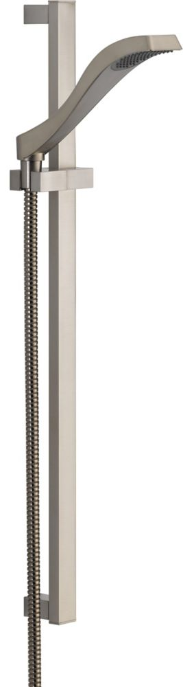 Dryden Single-Function Hand Shower in Stainless Steel