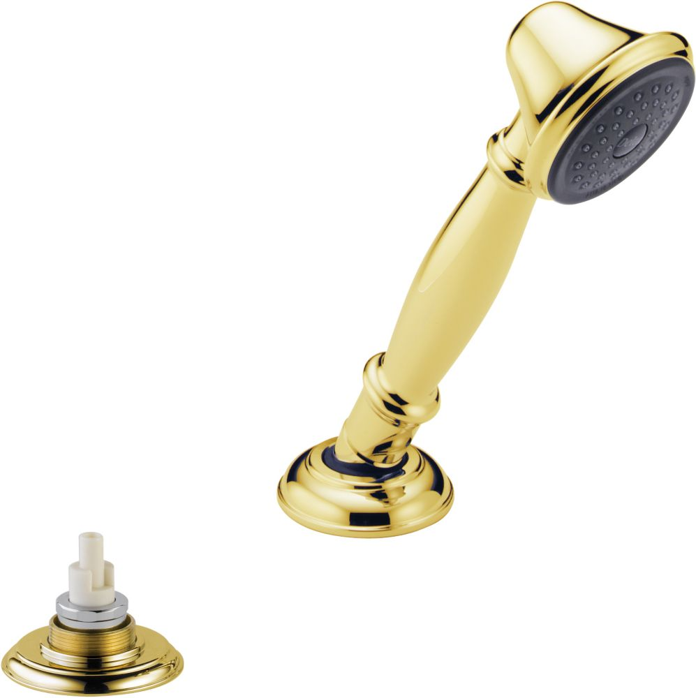 Traditional Roman Tub Hand Held Shower in Polished Brass RP33791PBLHP Canada Discount