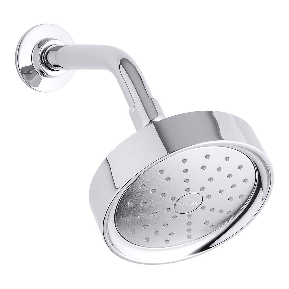 Pomme de douche a fonction simple Purist, 2,0 gal/min, avec pulverisateur a admission d'air Katalyst