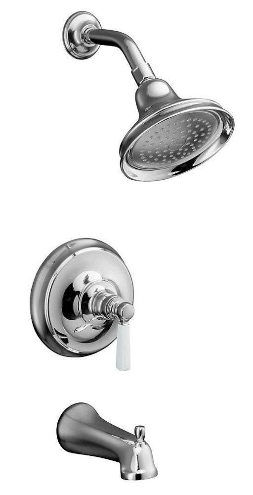 Bancroft Bath/Shower Faucet with Ceramic Handle
