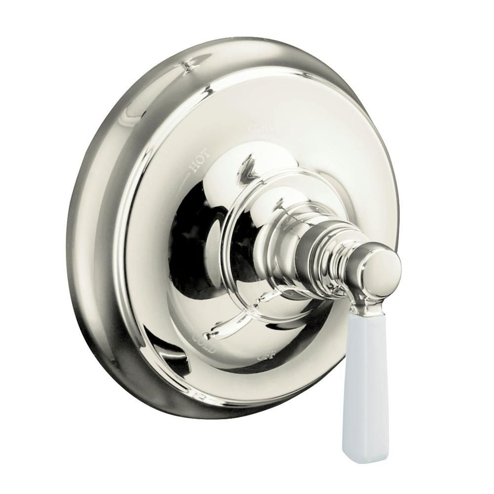 Bancroft Mixer Trim, Ceramic Handle