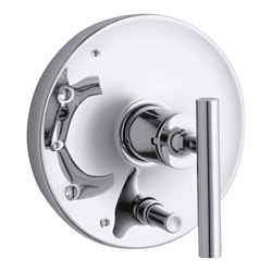 KOHLER Purist Rite-Temp Valve Trim With Diverter, Lever Handle