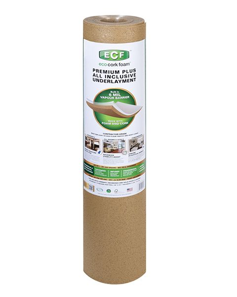Combo Underlayment for Laminate and Engineered Wood Floors, 75 SQ. FT. Roll