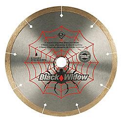 Black Widow 7-inch Porcelain, Ceramic, Marble and Granite Wet Cutting Diamond Blade