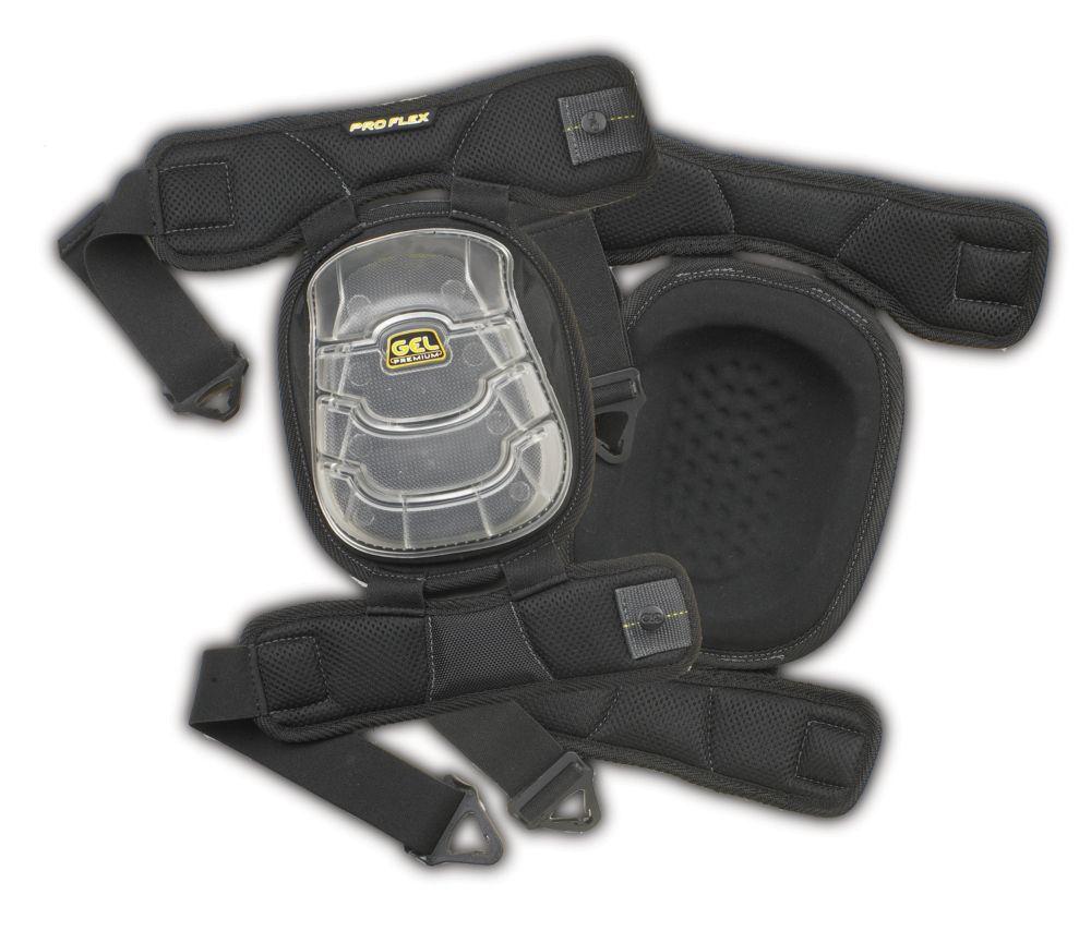Gel-Tek Stabili-Cap Articulated Kneepads