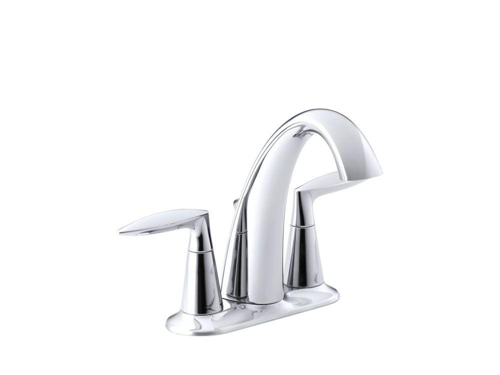 KOHLER Alteo(R) centerset bathroom sink faucet with lever handles