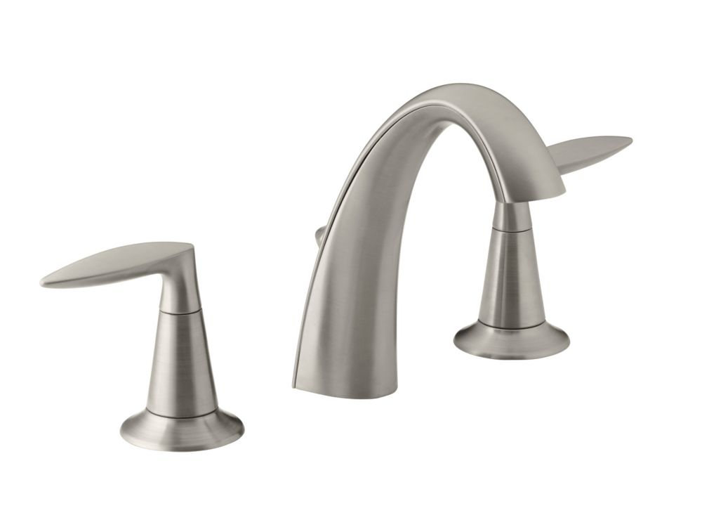 KOHLER Alteo(R) widespread bathroom sink faucet with lever handles