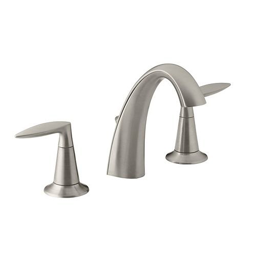 KOHLER Alteo(R) widespread bathroom sink faucet with lever handles