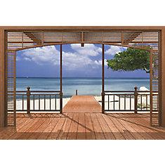 El Paradiso Beachfront Deck Mural Part 58