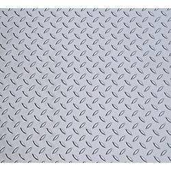 Diamond Deck Couvre-sol pour VTT/ animaux de compagnie, argent métallique, 5 pieds x 6 pieds