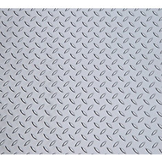 Diamond Deck 5 ft. x 12 ft. Vinyl Sheet in Metallic Silver