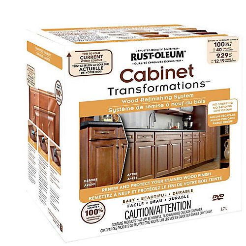 Rust Oleum Transformations Wood Refinishing Kit The Home Depot Canada