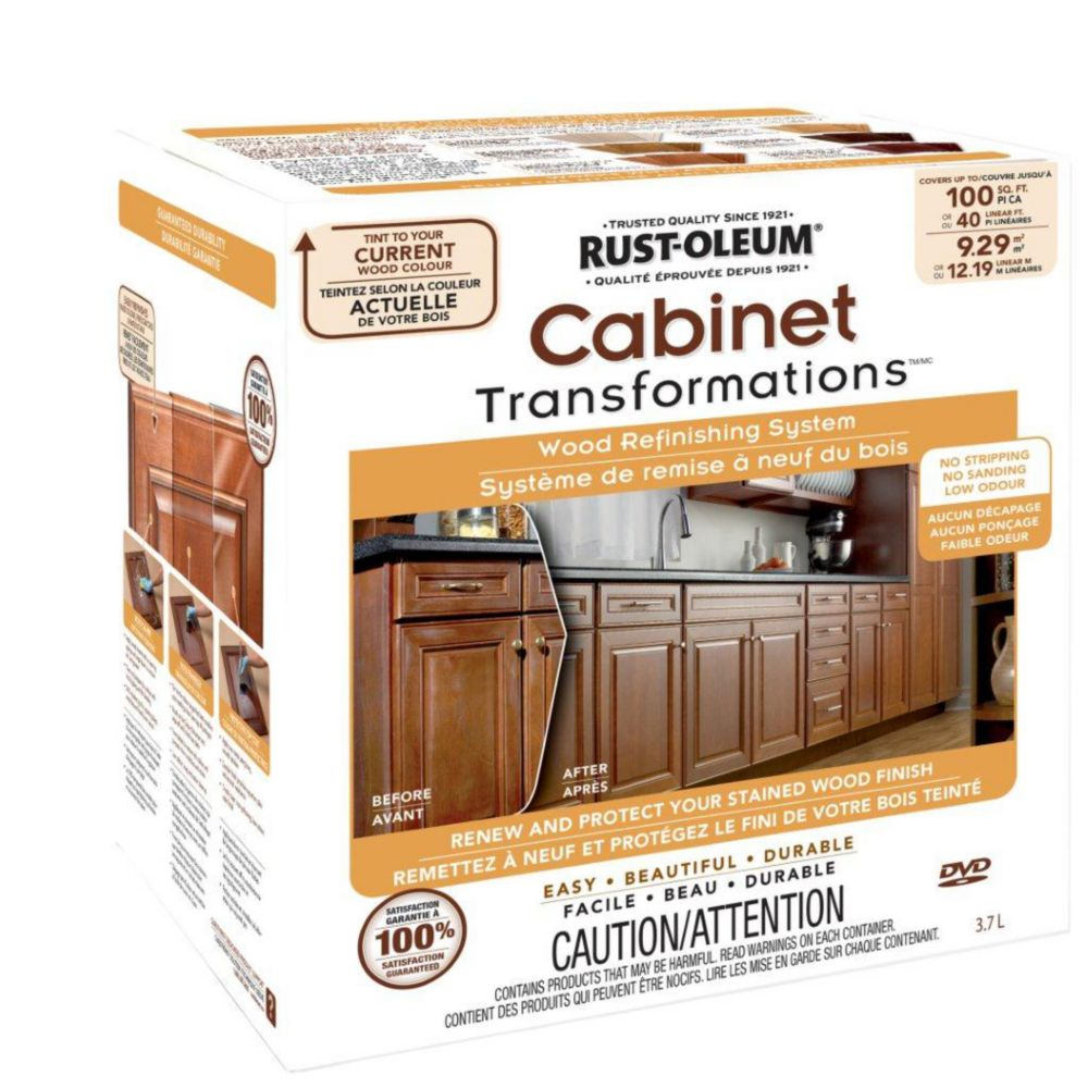 The Home Depot Installed Cabinet Refacing Wood Stained: Cabinet & Countertop Finishes