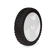 8-inch Replacement Free/Non-Drive Lawn Mower Wheel