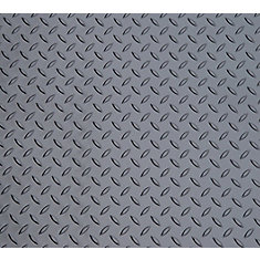 Diamond Deck 5 ft. x 30 ft. Vinyl Sheet in Metallic Graphite