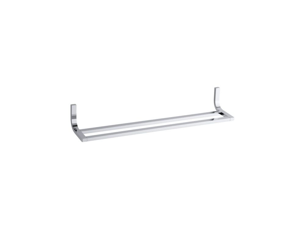 Loure 24 Inch  Double Towel Bar