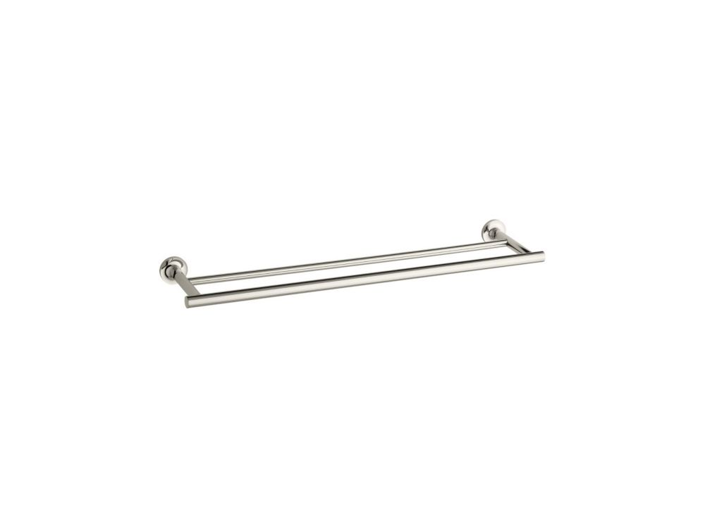 Purist Double Towel Bar