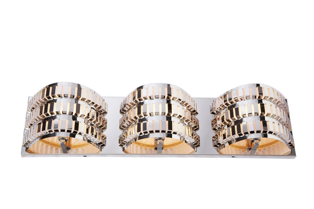 3 Light Stainless Steel Wall Lamp