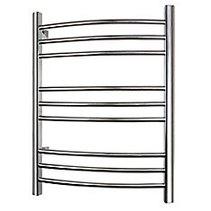 Riviera 32-inch Towel Warmer in Brushed Stainless Steel