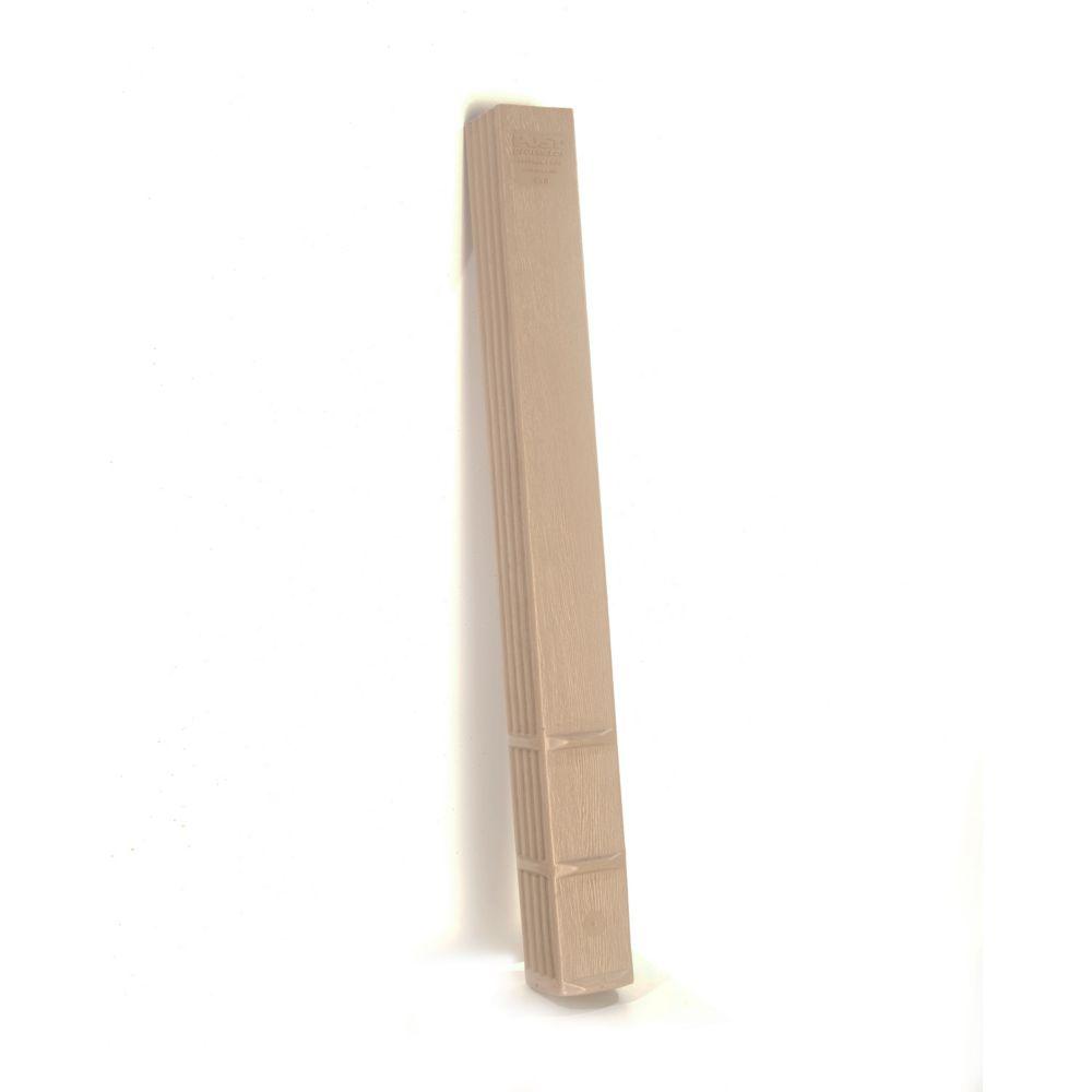 Protecteur de poteau 4x4x42 (palette de 72 pièces)
