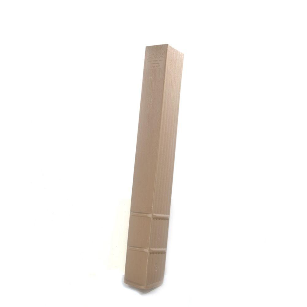 Post Protector 4 inch x 6 inch x 42 inch Post Protector (Case of 8-Pieces)