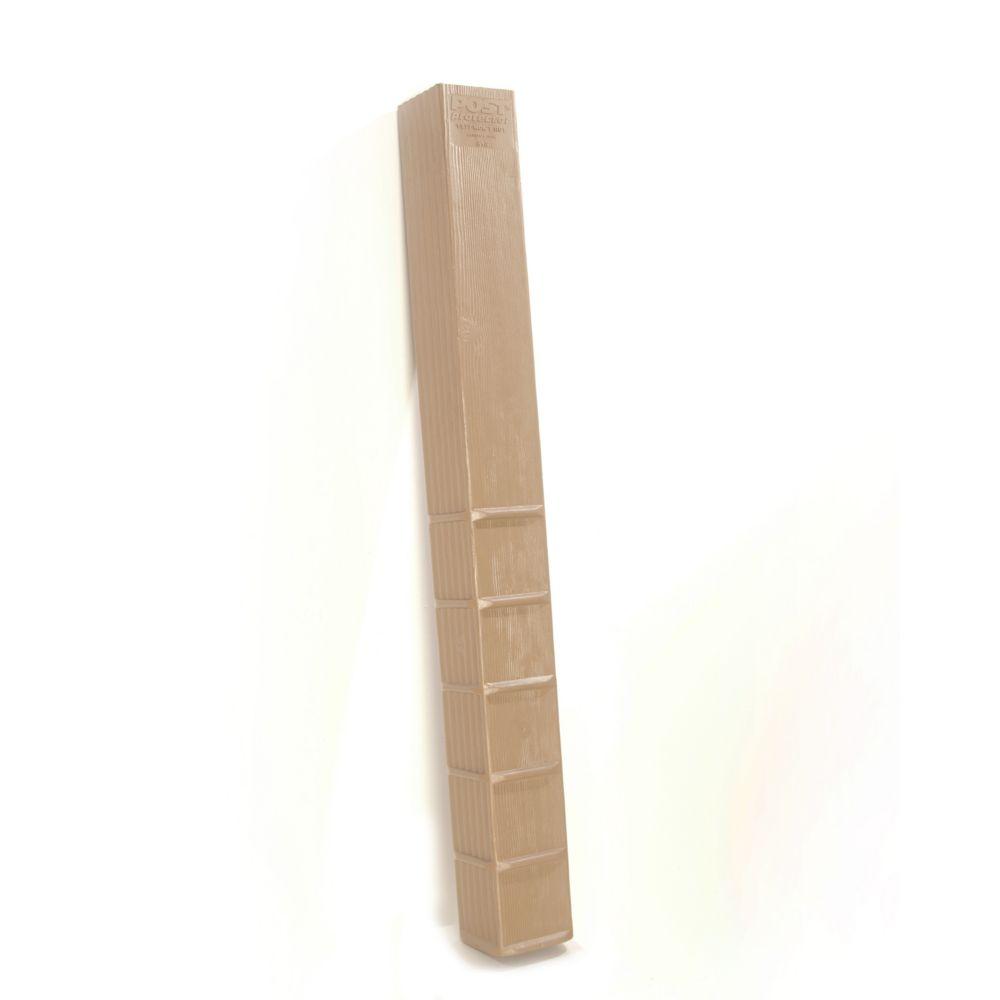 Protecteur de poteau 6x6x60 (boîte de 6 pièces)