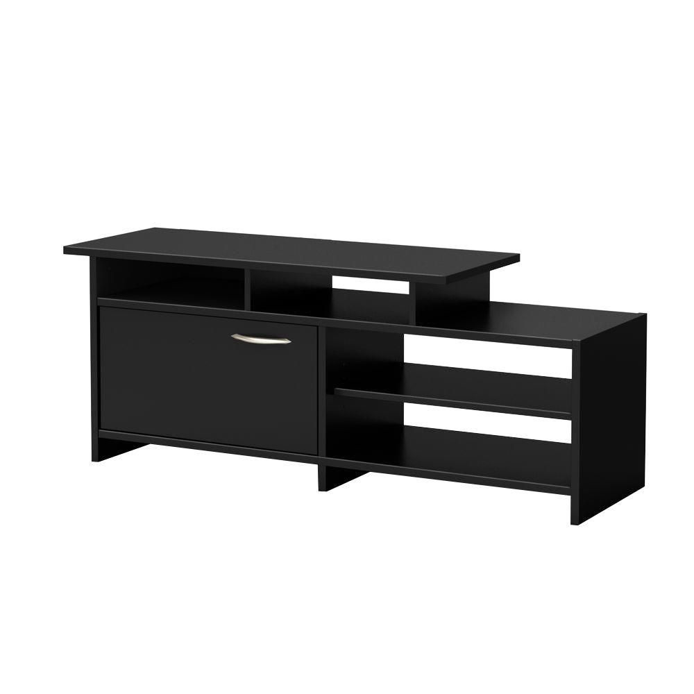 Freeport TV Stand Pure Black 3107661C Canada Discount