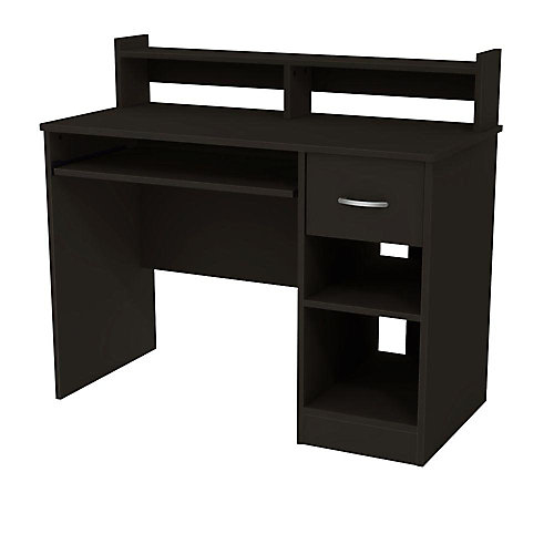 Freeport 42-inch x 36.75-inch x 20-inch Standard Computer Desk in Black